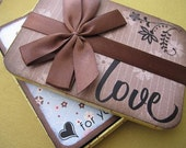 Love- Mini Photo Album with Tin Case