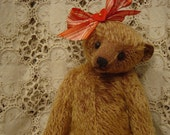 Artist Mohair teddy bear antique primitive style