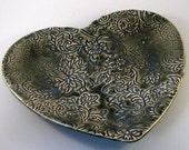 Heart Tray - Hand Built Stoneware