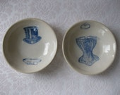 His and Hers Ditsy Bowls