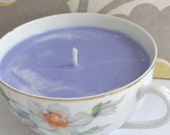 LAVENDER Handcrafted Soy Teacup Candle (7 oz.)