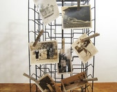Old Revolving Metal Store Display Rack