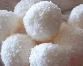 White Chocolate Toasted Marshmallow Truffles