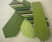 St. Patrick's KISS ME toddler baby boys necktie size1-3 years U choose style by Bubba Mae