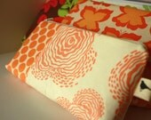 Perfect Purse Pouch - Creamsicle - Handmade