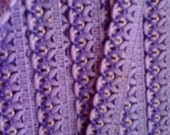Vintage Purple Polyester Trim ... PERFECT