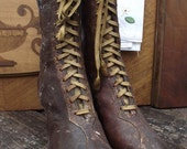Antique Victorian Granny Boots