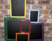 Over The Rainbow Upcycled Chalkboard Frames