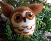 Really big Needle Felted Owl