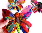 Recycled Crayons - Rainbow Butterfly  Crayon - 1 Large