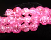 CLEARANCE-Sparkled Wrapped Pink Bracelet-CLEARANCE