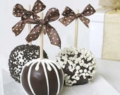 3 Paradise Caramel Apples Gift
