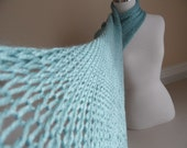 Sea Green Spring Scarf