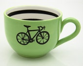 Bicycle Mug large for Soup or Coffee Lovers