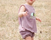 Girls Maya Swing Top and Bloomers for Easter or Anytime in sizes 1-5
