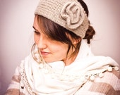 KNITTING PATTERN Strictly Knit Flower Headband Ear Warmer PDF