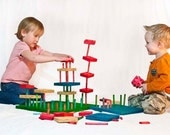 Stick City Building Blocks Wooden Toy 100 Pieces