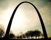 8x10 Photo Print - St. Louis Arch by kzieglerdesign