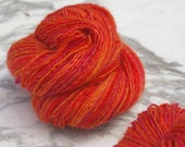 Tangerine Dream- Handspun Yarn