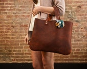 Pony Leather Tote