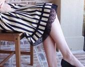 Lace Trimmed Slip -- Black