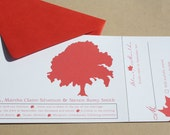 Maple Wedding Invitation