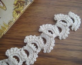 Crochet lace bookmark
