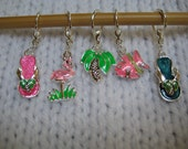 Summertime Fun Stitch Markers