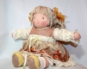 14 inch Waldorf doll - Wheat girl