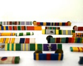grouping of military bar pins instant collection free shipping