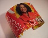 Oprah Decoupage Bracelet Cuff