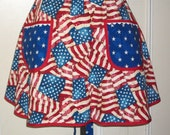 Vintage Inspired Apron - A Grand Ole Flag