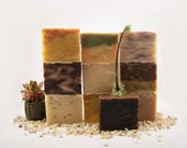 Organic Vegan Soap / (10) Large 5.5 oz. Bars - choose from over 25 varieties