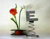 cool chrome letter E for fun and enjoyment