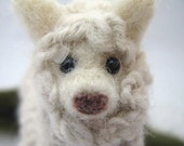 Alpaca, Hand Needlefelted Gentle Animal