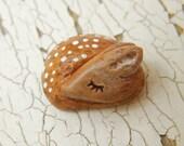 Little Fawn bead - Sleepy Woodland Critters