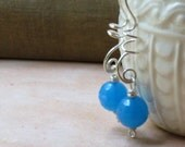 Eclectic Sky Blue Dangle Earrings - Meadow Lark