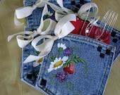 Handpainted Picnic Utensil Pockets ... Gift Pockets