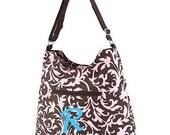 Personalized Messanger Bag Damask
