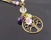 Tree of Life - Gemstone Necklace