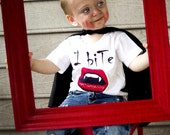 I biTe.. Funny Halloween Onesie - Infant or Toddler Tee