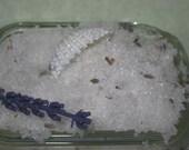 Dead Sea Bath Salts Natural Blendings Favorite Product in LAVENDER  4 0Z JAR made to order