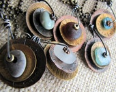 One of a Kind Spinner Necklaces Wholesale 6 Necklaces