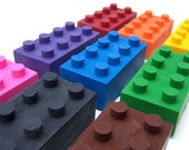 Building Brick Scribblers -Set of (9) 2nd Chance Crayons