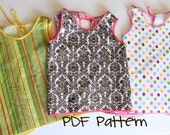 Art Smock or Apron PDF Sewing Pattern