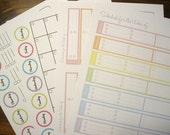 Cute Calendar Kit - 4 documents