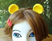 Clip In Baby Bear Ears Pick Your Color