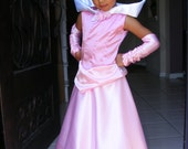 Sleeping Beauty, Princess Aurora Dress/Costume for Little Girl