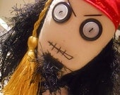 Jack Sparrow GOTH DOLL Pirate