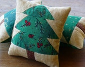 Christmas Tree - Bowl Fillers - Tucks - Ornies - Pillows - Quilted - Home Decor